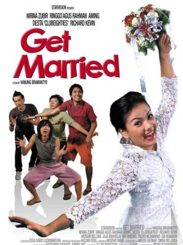 Poster film Get Married. (Foto: Dok. IMDb/ Starvision Plus)