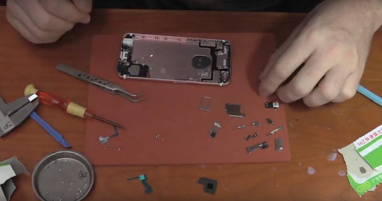 Proses perakitan iPhone 6s (Sumber: YouTube/ Strange Parts)