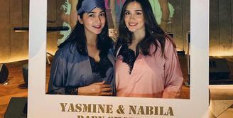 Nabila Syakieb dan Yasmine Wildblood baby shower (Instagram/yaswildblood)