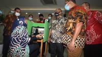 Sejumlah anggota DPR dan Dewan Jaminan Sosial Nasional (DJSN) serta perwakilan dari Kemenko PMK mengunjungi Kantor Cabang BPJAMSOSTEK Cikokol, Tangerang (12/06).