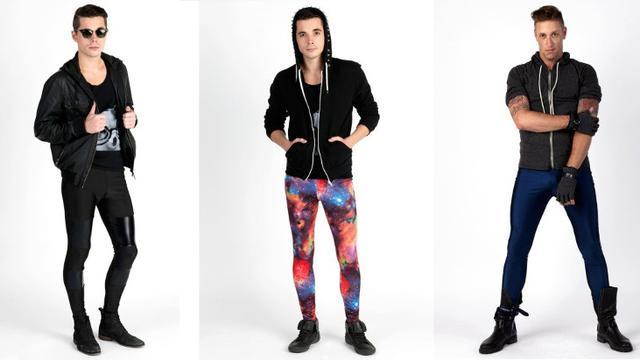 Meggings Celana Legging Untuk Pria Pendobrak Budaya Fashion Beauty Liputan6 Com