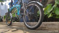 Konverter sepeda listrik Goes On Hub (Ist)