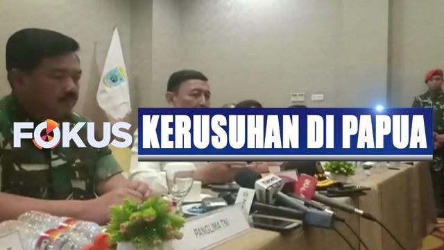 Wiranto meminta semua pihak meredakan emosi dan melihat kembali persoalan yang terjadi.