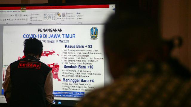 Zona Merah Covid 19 Di Jawa Timur Tersisa Empat Daerah Surabaya Liputan6 Com