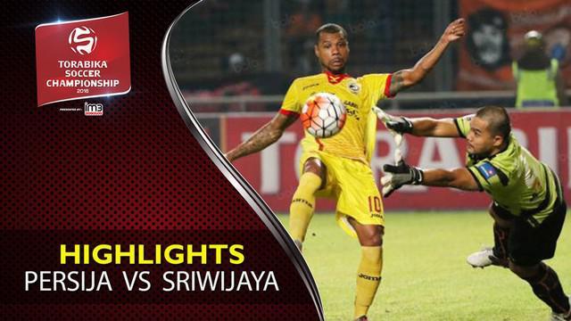 Video highlights TSC 2016 antara Persija Jakarta Vs Sriwijaya FC yang berakhir sementara dengan skor 0-1 di Stadion GBK, Jakarta.
