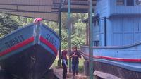Kamp Manusia Perahu Vietnam di Pulau Galang. (Liputan6.com/Ajang Nurdin)