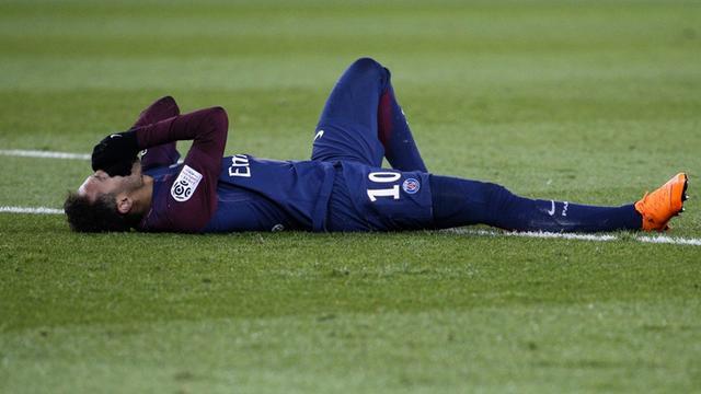 Penyerang Paris Saint-Germain, Neymar.