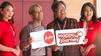 Gamaliel menjadi brand ambassador dalam kampanye terbaru AirAsia, yaitu #BahagiaBersamaAirAsia.