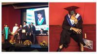 Jeric R. Rivas yang merupakan lulusan Sarjana Ilmu Kriminologi (Sumber: World of Buzz)