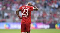 Arturo Vidal kini diincar AC Milan. (AFP / CHRISTOF STACHE)