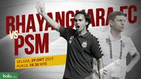 Shopee Liga 1 2019: Bhayangkara FC vs PSM Makassar. (Bola.com/Dody Iryawan)