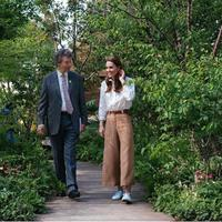 Kate Middleton saat berada di RHS Chelsea Flower Show SW1. (dok. Instagram @kensingtonroyal/https://www.instagram.com/p/Bxrlp4mlh6v/Putu Elmira)