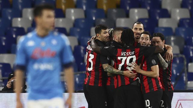 Penyerang AC Milan, Zlatan Ibrahimovic.