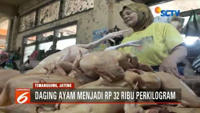Kenaikan harga daging dan telur ayam diperkirakan karena tingginya kebutuhan masyarakat untuk melakukan Nyadran atau tradisi saling bermaaf-maafan.