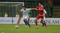 Duel Malaysia U-23 melawan Uni Emirat Arab U-23 ternoda dengan keributan yang melibatkan pemain dan ofisial tim. (Twitter FAM)