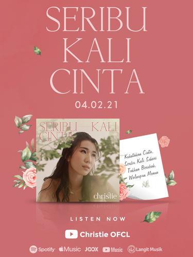 Christie debut dengan Seribu Kali CInta. (ist)