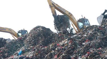 Tempat Pembuangan Sampah Terpadu (TPST) Bantargebang.
