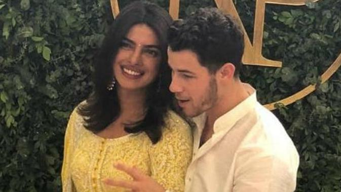 Priyanka Chopra dan Nick Jonas (Hindustan Times)