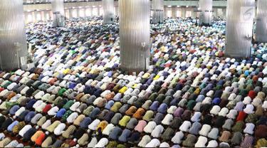 Salat Jumat Pertama Ramadan di Masjid Istiqlal