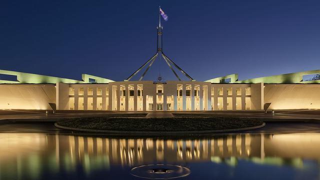 Gedung Parlemen Canberra
