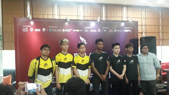 Onic dan Aerowolf di Piala Presiden Esports 2019