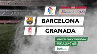 La Liga_Barcelona Vs Granada (Bola.com/Adreanus Titus)