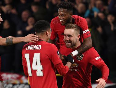 Manchester United vs Derby Country Piala FA
