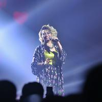Reza Artamevia di 5 Cinta Concert (Foto: Nurwahyunan/Bintang.com)