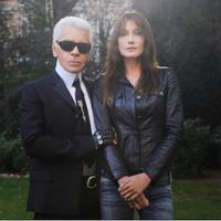 Simak bagaimana supermodel dunia ungkapkan kesedihan atas kepergian Karl Lagerfeld. (Foto: Instagram/Carlabruni)