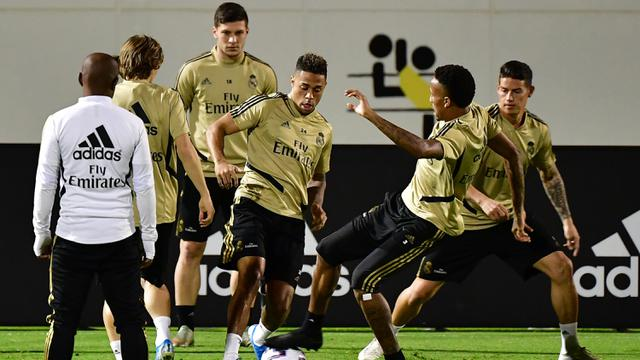 Intip Latihan Real Madrid Jelang Lawan Valencia di Jeddah