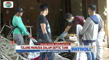 Polda Kepri belum bisa memastikan siapa korban yang tulang belulangnya ditemukan di sebuah septic tank di Tanjung Pinang, Kepri.