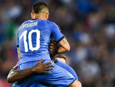 Italia Tekuk Arab Saudi 2-1, Mario Balotelli Cetak Gol