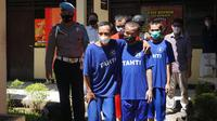 Polisi berhasil menangkap 5 tahanan Polres Purbalingga yang kabur. (Foto: Liputan6.com/Rudal Afgani Dirgantara)