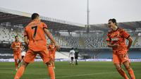 Comeback Gemilang Ronaldo, Juventus Hajar Spezia (AP)