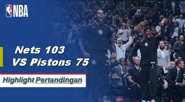 Spencer Dinwiddie mencetak 19 poin saat Nets menang atas Pistons