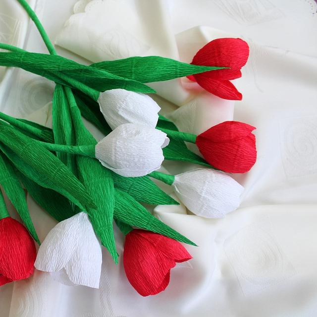 Cara Membuat Bunga Dari Kertas Krep Ini Mudah Bisa Dipraktikkan