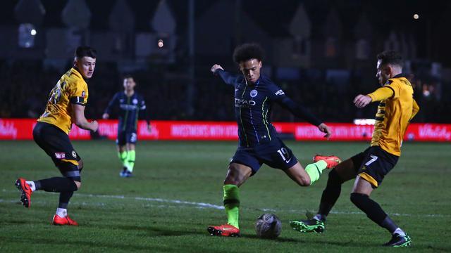 Cukur Tim Kasta Keempat, Manchester City Lolos ke Perempat Final Piala FA