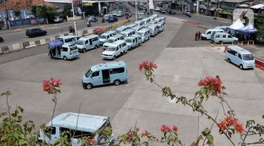 90 Persen Angkutan Umum DKI Jakarta Setop Operasi Akibat Covid-19