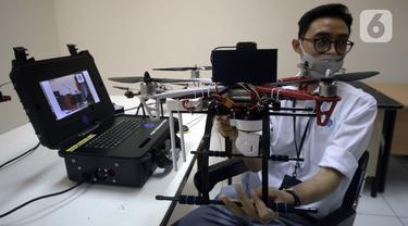 FOTO: LIPI Pamerkan Drone Pendeteksi Kerumunan Masa Saat Pilkada