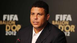 Ronaldo Nazario meraih dua kali Ballon d'Or yaitu pada tahun 1997 dan 2002. (AFP Photo/ Nelson Almeida)