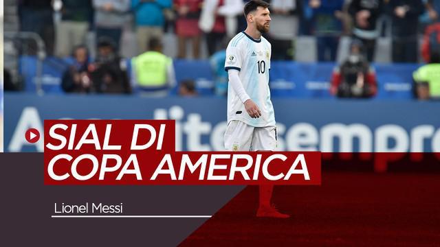 Berita Video Lionel Messi dan Kesialannya di Copa America