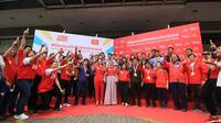 McDonald's dan Tehbotol Sosro memberikan apresiasi berupa logam mulia kepada para atlet dan tim yang berjuang di Asian Games 2018. (Foto: Dok. McDonald's)