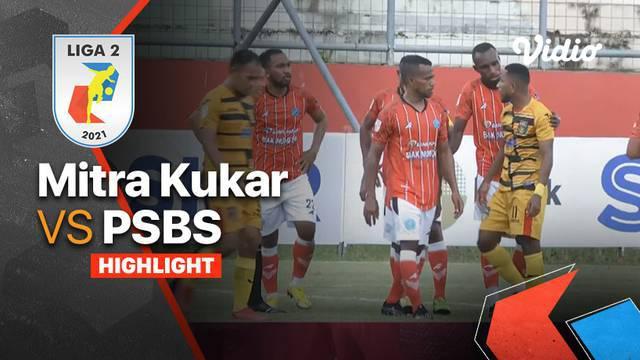 Berita Video Highlights Liga 2, Mitra Kukar Bermain Imbang Melawan PSBS Biak Numfor