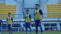Fabiano Beltrame mengaku siap jika harus dipinjamkan ke klub lain sambil menunggu proses naturalisasinya. (Huyogo Simbolon)