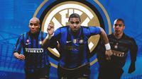 Inter Milan - Maicon, Adriano, Ronaldo (Bola.com/Adreanus Titus)