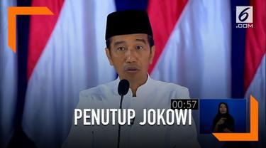 Pada penutupan debat capres, Jokowi berpesan untuk jangan pesimis dan mudah menyerah dalam mengelola negara.