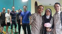 Rina Gunawan dan Keluarga Syach (Sumber: Instagram/@attar.syach/@ananda_faturrahman)