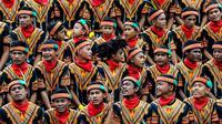 Tari saman dari Aceh yang memesona dan penuh makna (dok.Liputan6.com)