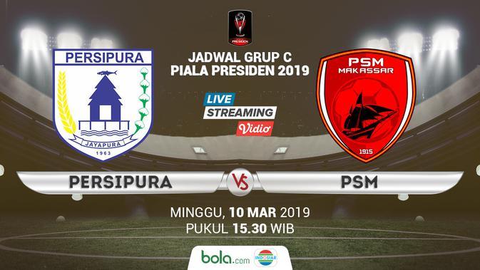 Live Streaming Indosiar: Persipura Jayapura vs PSM Makassar di Piala Presiden 2019 - Bola ...