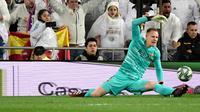 Kiper Barcelona, Marc-Andre ter Stegen. (AFP/Javier Soriano)